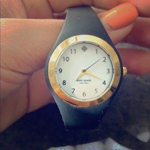 Black Kate Spade Watch